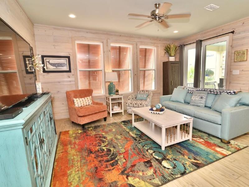 Gulf View Sandbox Cottage Sleeps 8