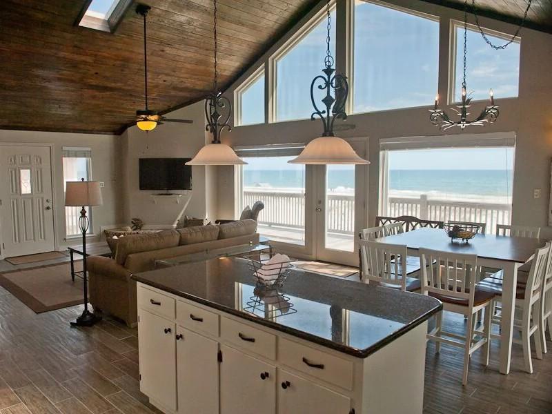 Beautifully Updated 4BR Beachfront Home