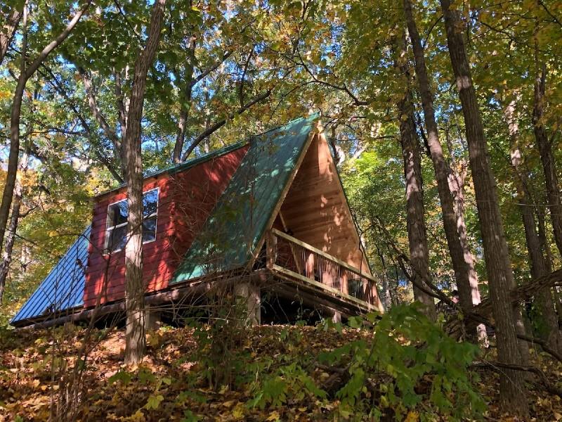 Glacier Hills County Park Rustic Cabin #8