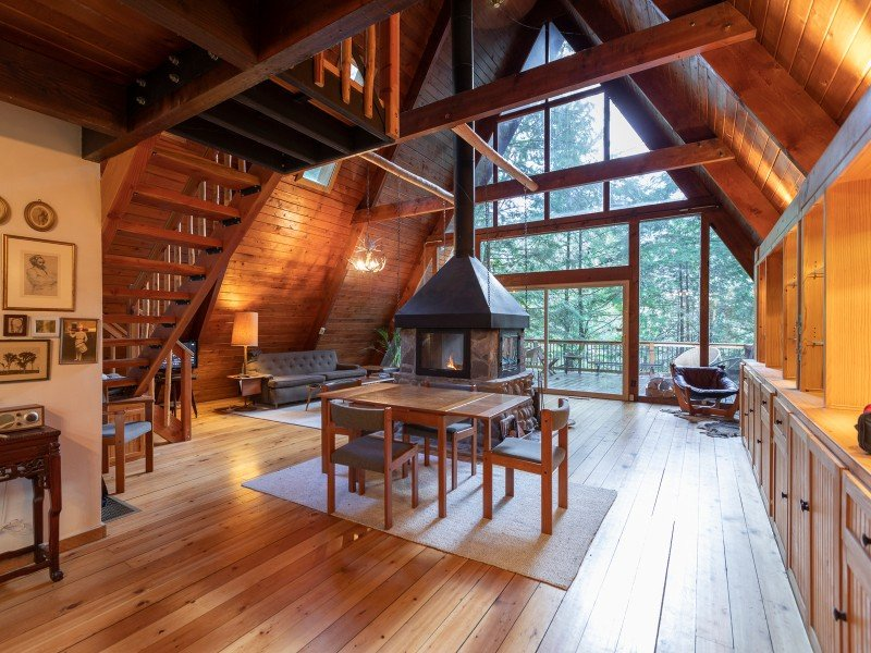 Cozy & Private A-Frame: Mount Hood National Forest