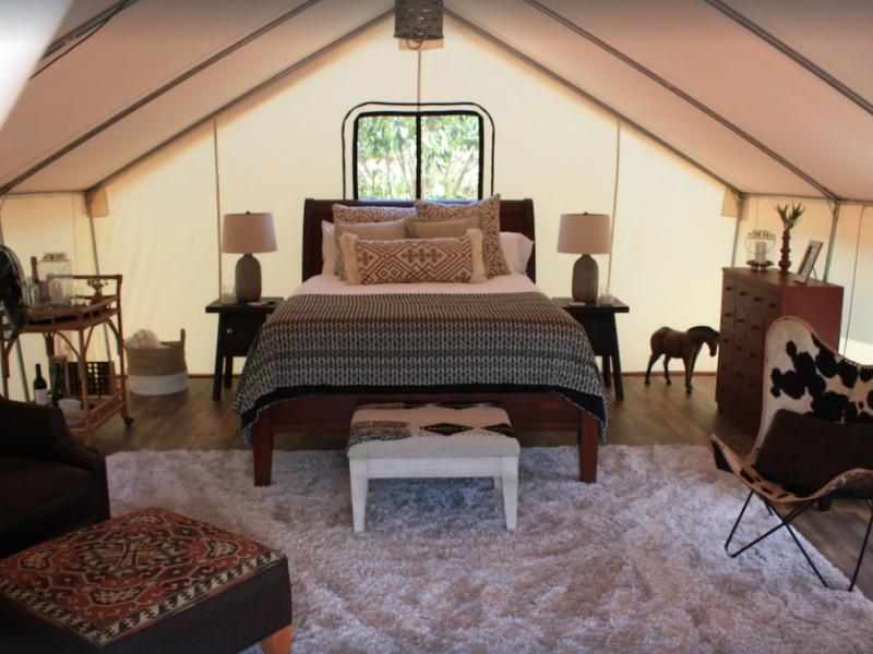 African Safari Tent, Carlsbad, California