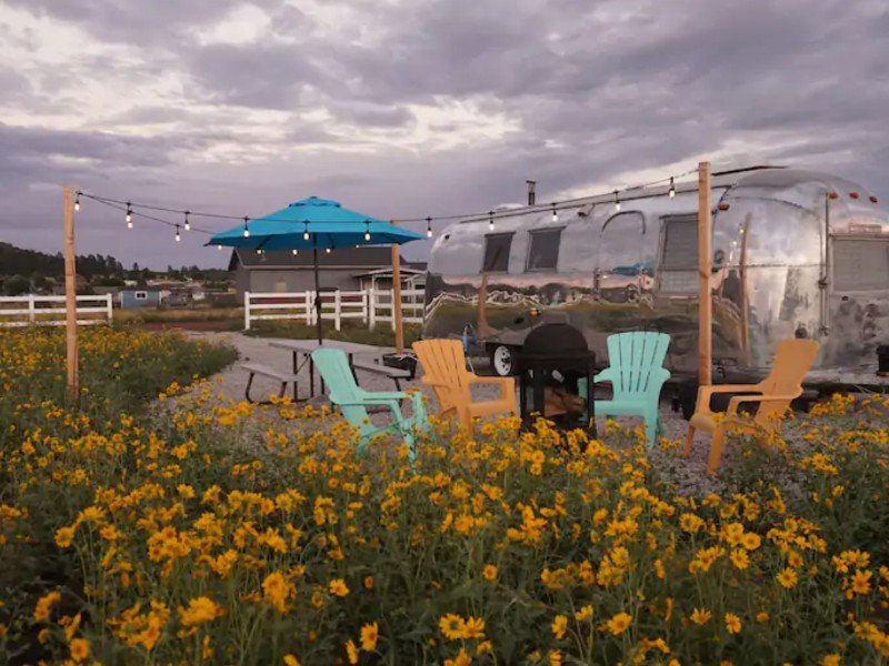 Airstream Dreaming, Flagstaff, Arizona