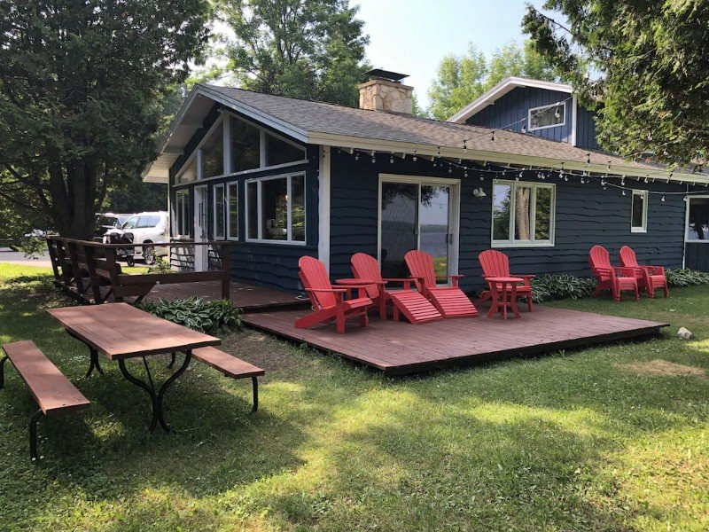 Lakefront Home, Minutes From Sister Bay
