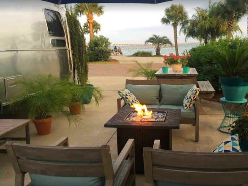 Navarre Airstream Luxury Vacations at Waterfront Resort