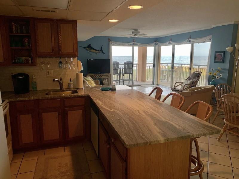 Oceanfront, Southern Exposure 2nd Floor Condo