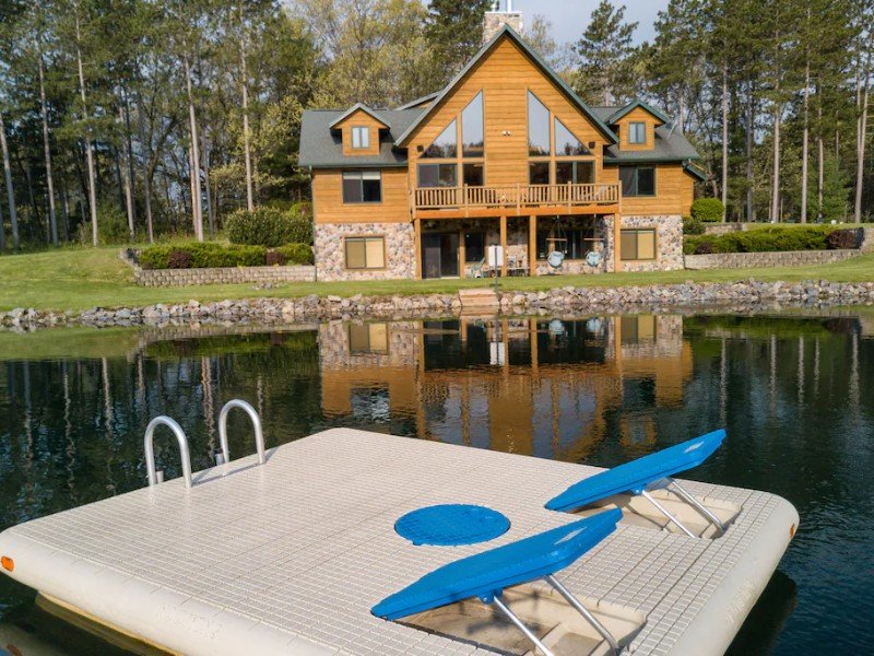 Dock at Spacious Retreat with Private Swimming and Fishing Pond