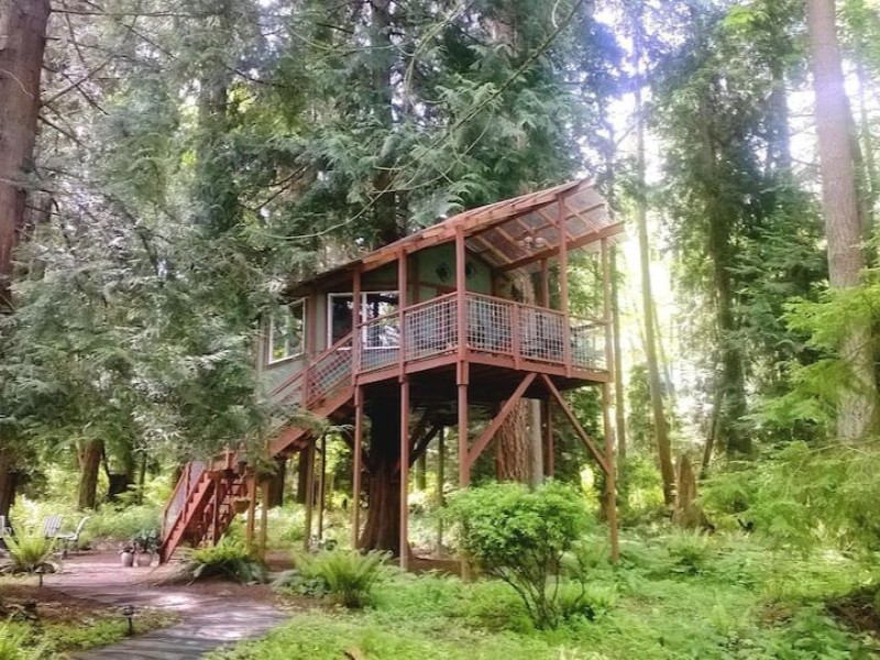 Treehouse on Whidbey Island