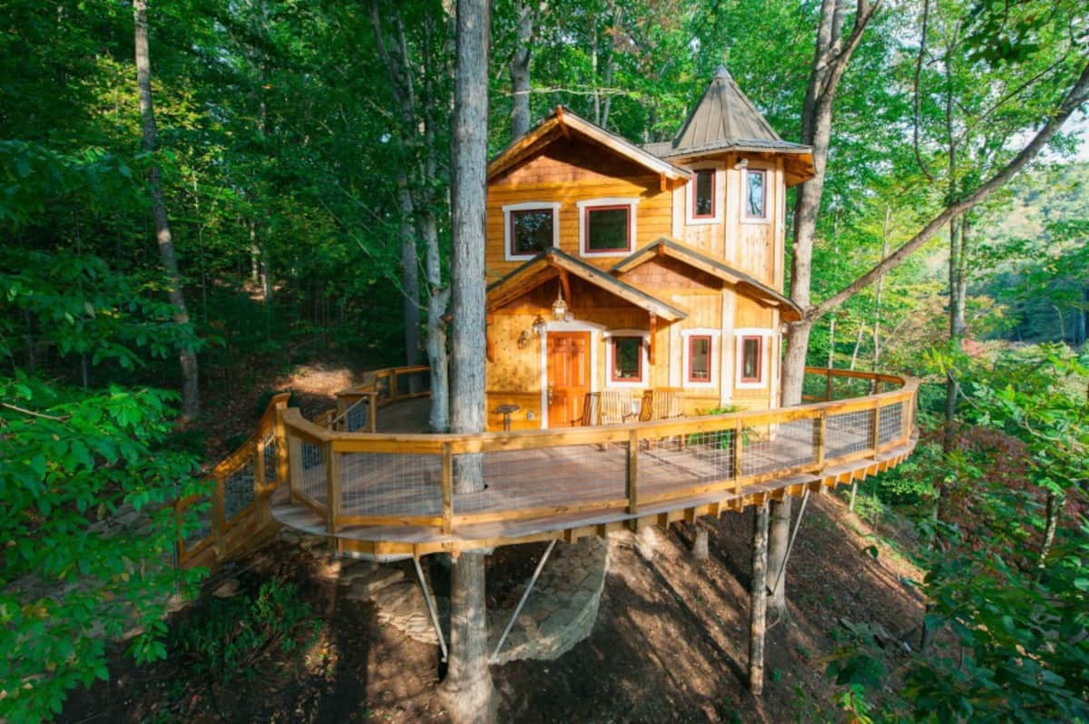Luxury Treehouse - Asheville