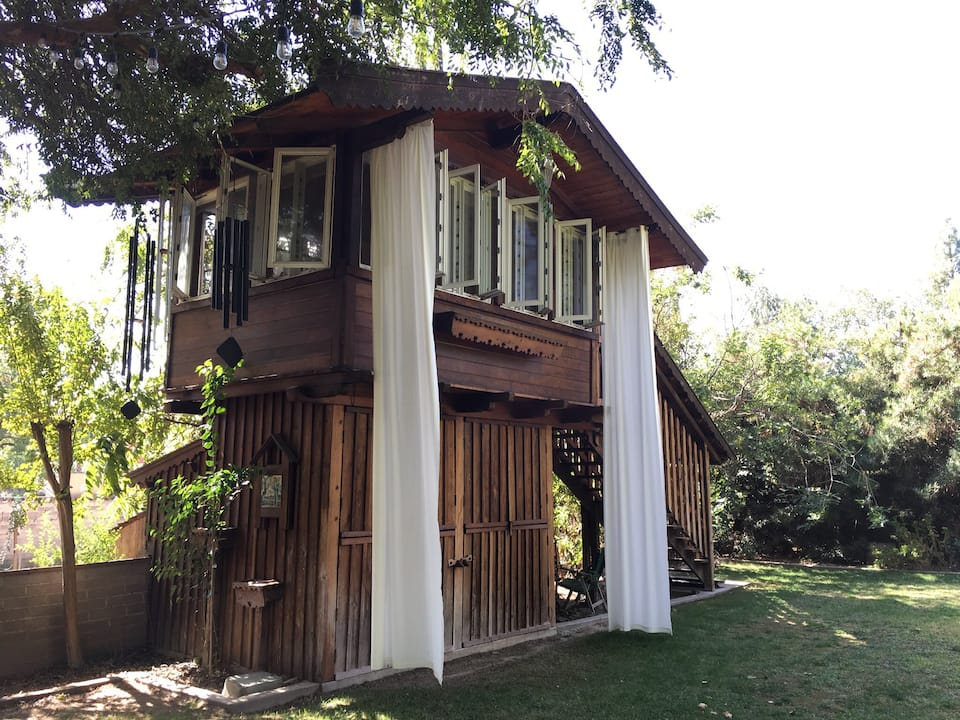 Exterior of Old Fig Garden Treehouse