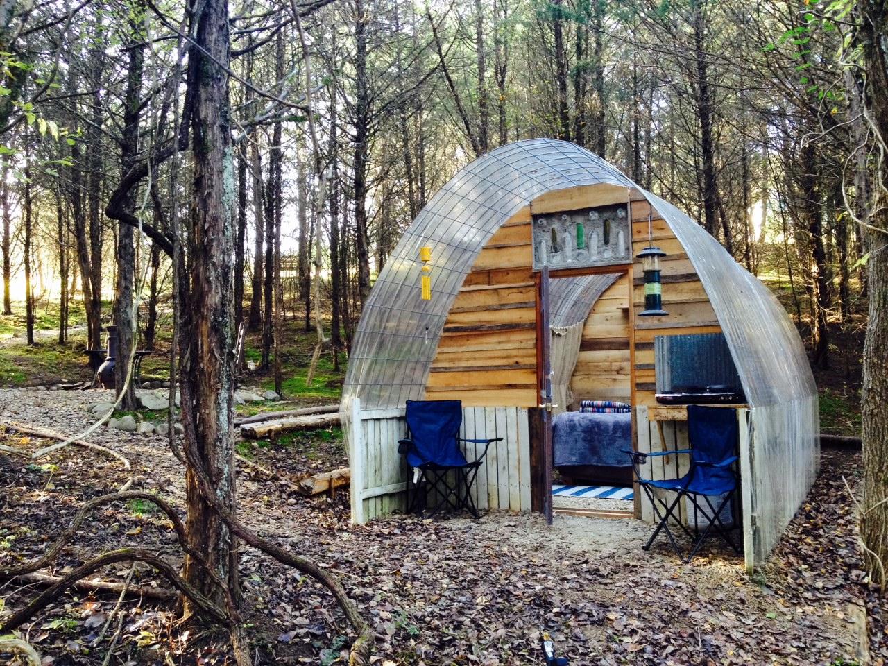 Stargazing Hut, Mossy Forest Glamping