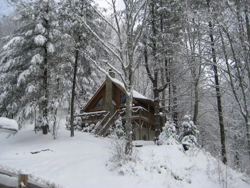 Stunning Log Cabin