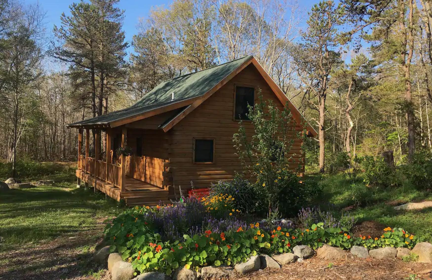 The Dogtown Cabin at Apple Cart Farm