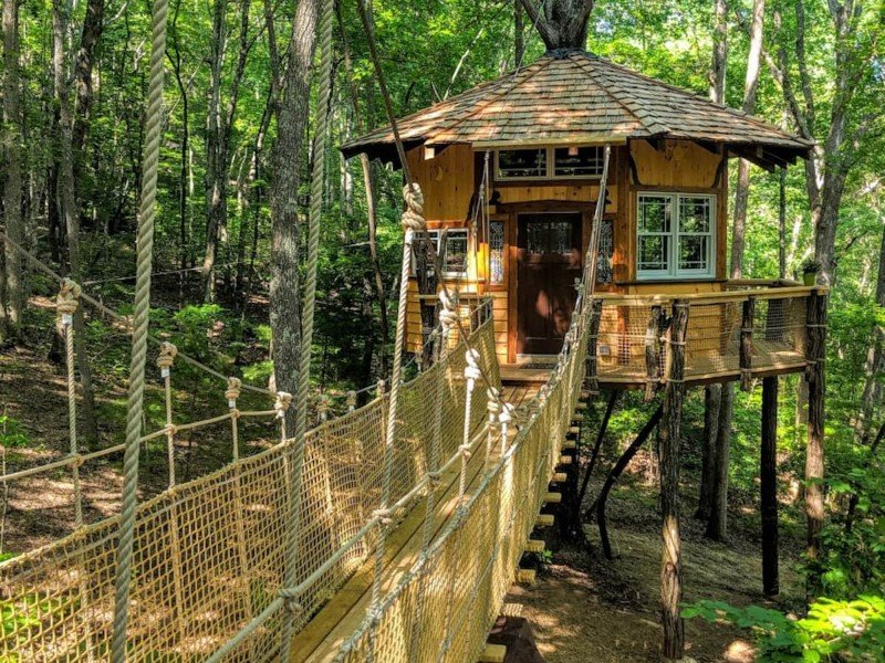 Treehouse Stamish Castle