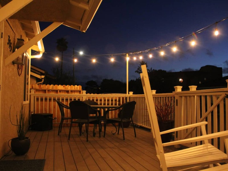 Patio at Well-Furnished Oceanside Home