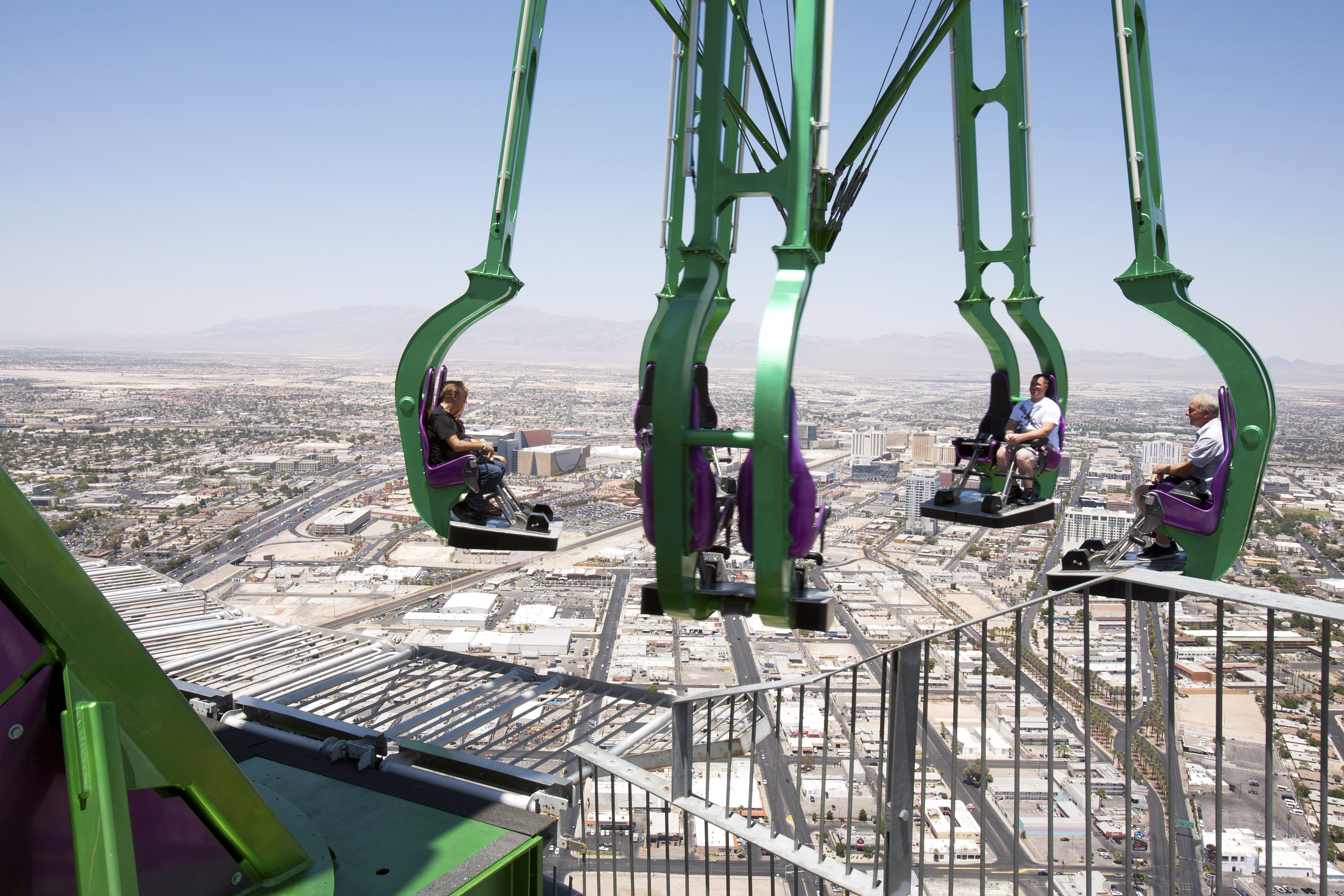 Riders on Insanity at the Stratosphere
